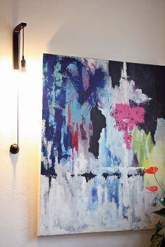 Rastas-Straße 25: DIY seinävalaisin Walls, Interior, Blog, Diy, Painting, Dreadlocks, Bricolage, Wands, Design Interiors