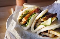 Momofuku Pork Bun - to try when we have all sorts of time on our hands... :)
