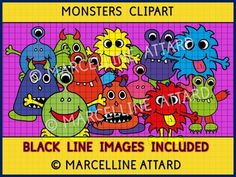 A CUTE SET OF MONSTER IMAGES to enhance any project and motivate children in any educational activity. Crispy clear images (300dpi), png format!!!