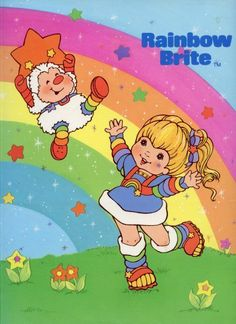 I had a rainbow brite dolly 1980 Cartoons, Old School Cartoons, 1980s Childhood, Childhood Memories, Drawn Art, Dibujos Cute, Rainbow Brite, Cartoon Pics, Cartoon Picture