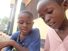 Saidu and Mohamed.  The Child Rescue Center, Bo, Sierra Leone