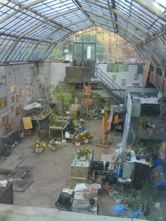 Magic, undiscovered place inside Kiev Botanical Garden, by Anna Zaporozhko. Found via Hunter Gatherer.