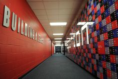 Building Tradition Wall at One Bills Drive