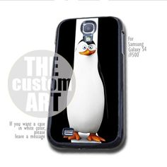 Kowalski Penguins of Madagascar - For Samsung Galaxy S4 i9500 | TheCustomArt - Accessories on ArtFire