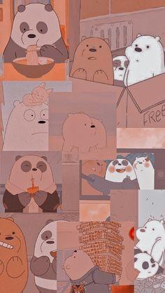 Cute Tumblr Wallpaper, Cute Panda Wallpaper, Cute Pastel Wallpaper, Iphone Wallpaper Tumblr Aesthetic, Bear Wallpaper, Cute Patterns Wallpaper, Cute Wallpaper Backgrounds, Purple Wallpaper Iphone, Disney Phone Wallpaper
