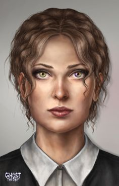 First concept art for Barbara, our heroine. Classy young lady! See more about Ghost Theory game on www.ghost-theory.com