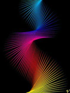 Animación abstracto para celular