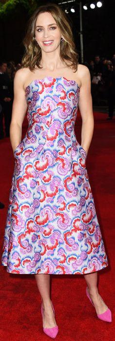"Emily Blunt - ""Edge Of Tomorrow"" - UK Film Premiere (May 27, 2014)"