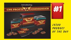 JVZoo Product of the day, CPA Profit Commander Review, CPA Profit Comman...