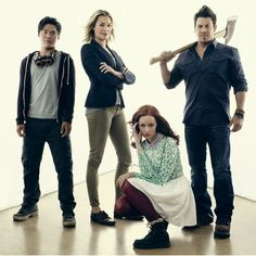 "kane-town: "" Flynn Carsen (Noah Wyle), Eve Baird (Rebecca Romijn), Jake Stone (Christian Kane), Cassandra Cillian (Lindy Booth), and Ezekiel Jones (John Kim) will return to the Library on Nov. 1 and..."