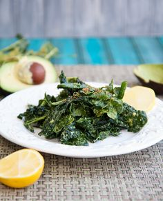 super simple kale salad