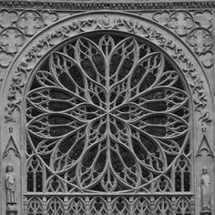 Cathédrale Notre-Dame d'Amiens - Rosace