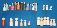 like this idea of acting out Bible stories with props - might make some and keep them in a little basket