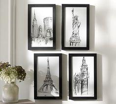 Master Bedroom Walls On Pinterest Wall Clocks Abstract And Framed Prints