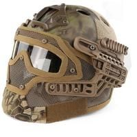 a8ea960c G4 System Tactical Paintball Helmet ABS Full Face Mask With Goggle