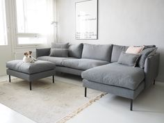 My new sofa in our old apartment. Sofa from Kuusilinna. H & M Home, Home Reno, Old Apartments, Scandinavian Home, Sweet Home, New Homes, Couch, Living Room, Apartment Sofa