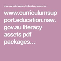 www.curriculumsupport.education.nsw.gov.au literacy assets pdf packages…