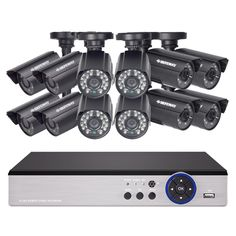 649.99$  Buy now - http://alik04.shopchina.info/go.php?t=32813203504 - DEFEWAY 1200TVL 720P HD Outdoor CCTV Security Camera System 1080N Home Video Surveillance DVR Kit 16 CH 1080P HDMI Output New  649.99$ #SHOPPING