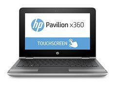 "nice HP Pavilion x360 13-u001ns - Portatil de 13,3"" (Intel Core i3-6100U, memoria RAM de 4 GB, disco duro de 500 GB, Windows 10), plata - Teclado QWERTY Español"