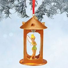 Disney Tinker Bell Light-Up Sketchbook Ornament | Disney StoreTinker Bell Light-Up Sketchbook Ornament - While tiny Tinker Bell is temporarily imprisoned in Captain Hook's lantern, she'll make the most fetching ''firefly'' light for your holiday tree. Capture a pinch of Pixie Dust for the season with this lighted figural ornament.