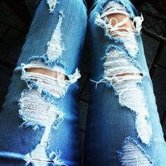 Ripped Jeans..perfection....