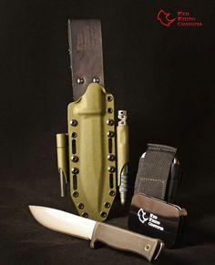Tactical kydex sheath Fallkniven A1 Www.RedRhinoCustoms.com