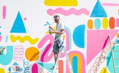 Wall space: Brooklyn artists think big with Mike Perry-led mural project