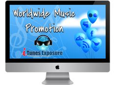 Get worldwide iTunes music promotion like major stars when you use iTunes Exposure