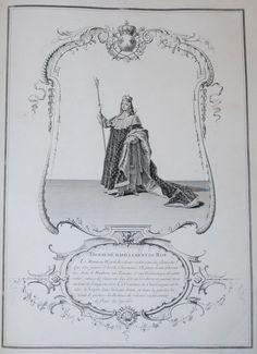 Le Sacre de Louis XV, Roy de France et de Navarre, dans l'église de Reims, le Dimanche XXV Octobre MDCCXXII. S.l.n.d. [Paris, Imprimerie royale]