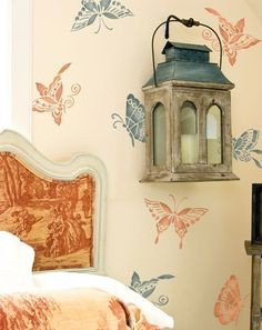 decorar paredes con stencil 7