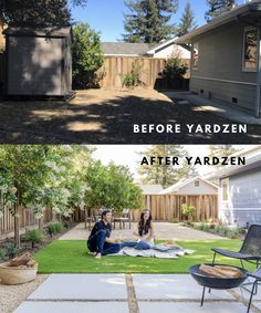 Backyard Pool Landscaping, Backyard Seating, Modern Backyard, Backyard Projects, Backyard Ideas, Garden Ideas, Online Landscape Design, Home Garden Design, Home And Garden