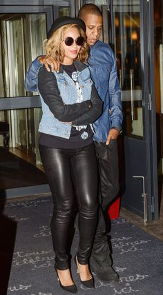 Paris is for lovers: Beyonce and Jay-Z have a romantic date at La Petite Maison De Nicole in France's capital on Sunday