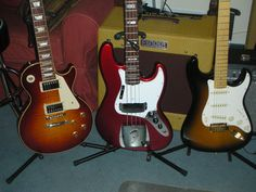The Fender/Gibson  50 th Anniversary Gang