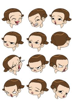 character facial expressions