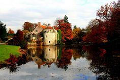 Scotney Castle & Garden, Kent, England, (National Trust Property)