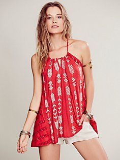 Peace Arrow Tunic // boho tunic