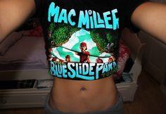 mac miller crop top. ♡