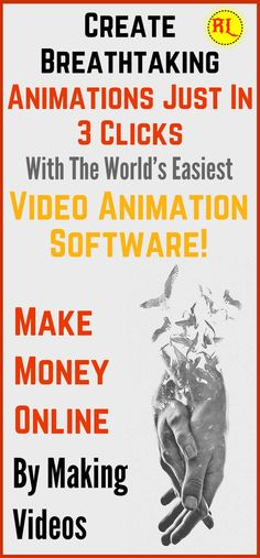 The easiest way to make animation with animation maker software just in 3 clicks. get youtube subscribers, followers for instagram and more by animation creator. * You can get additional details at the image link. #VideoMarketingTips