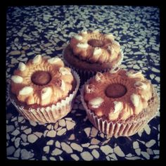 "Coffee banana muffins with ""Bucaneve"" - muffins al caffè e banana con Bucaneve"
