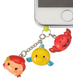 TSUM TSUM Ariel ❤ Smartphone plug Disney Store JAPAN The Little Mermaid