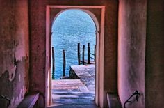 Way Out To The Lakefront by Hanny Heim #doorway