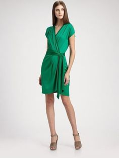 DVF Mateo Silk Dress