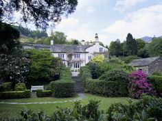 Rydal Mount, the Poet Wordsworth's Home, Lake District, Cumbria, England