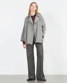 HAND MADE COAT-Coats-Outerwear-WOMAN | ZARA United States