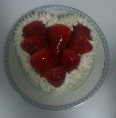 Corazon de fresas!