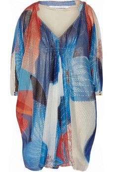 8480a22c1360 Diane von Furstenberg Fleurette chiffon mini dress   THE OUTNET Robes De  Créateurs, Diane Von