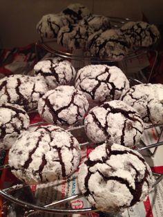 Best chocolate crinkles i've made...