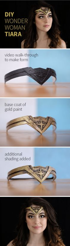 We venture into Cosplay and costumes with a DIY Wonder Woman Tiara. - We venture into Cosplay and costumes with a DIY Wonder Woman Tiara.