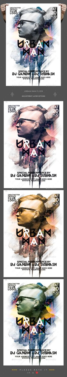 Minimal Party Flyer Party flyer, Minimal and Flyer template - black flyer template