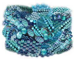 Torquiose  Pinned by @Manaro Design  Jewelry | Beading | Bracelet | Necklace | Earrings